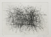 Hillview, 1996; Drypoint; Paper size: 366 x 444 mm
