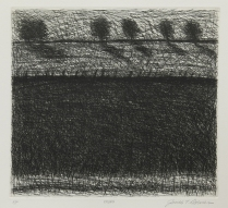Edges, 1997; Etching; Paper size: 357 x 398 mm