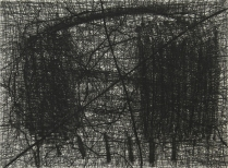 Destroy, 1995; Etching, drypoint; Paper size: 343 x 247 mm