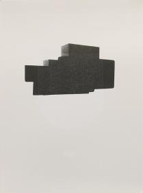 "Josh Dannin; No. 1401, 2014; Letterpress; Paper size: 382 x 280 mm; from, ""Revival: Print Exchange"""