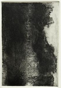 Terrell James; Untitled, 1994; Etching, aquatint, sugar lift, drypoint, burnishing; Paper size: 258 mm x 190 mm
