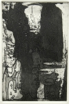 Untitled IV, 1994; Etching, aquatint, sugar lift, drypoint, burnishing; Paper size: 266 mm x 194 mm