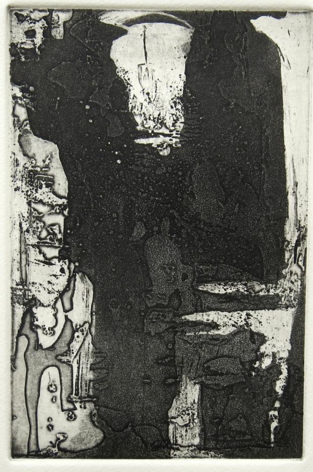 Untitled IV, 1994; Etching, aquatint, sugar lift, drypoint, burnishing; Paper size: 266 mm x 194 mm