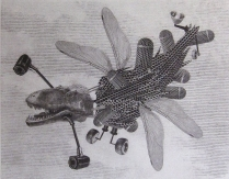 Paparazzi Drone, 2015; Photopolymer etching; Object Size:361 mm 457 mm