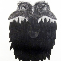 Mobile inverse surveillance house system I, 2012; Etching, photo etching; Object Size:359 mm 457 mm