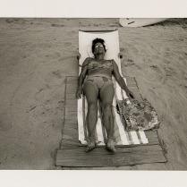 Waikiki Beach, Hawaii, 1971; Archival Inkjet; Object size: 329 x 480 mm