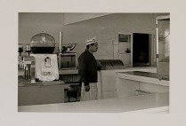 Café, Balboa, Newport Beach, California, 1970; Archival Inkjet; Object size: 329 x 480 mm