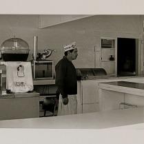 Café, Balboa, Newport Beach, California, 1970; Archival Inkjet; Object size: 329 x 480 mm