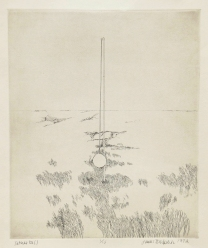 Tether Ball, 1972; Intaglio; Obj size: 338 x 309 mm