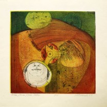 Brian/It's Me/Your Father, 1967; Intaglio; Obj size: 397 x 415 mm