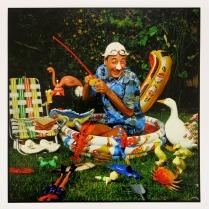 Pee Wee Herman, 1983, 2015; Archival Inkjet Image size: 507 x 509
