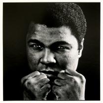 Muhammad Ali, 1982, 2015; Archival Inkjet Image size: 507 x 509