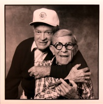 George Burns/Bob Hope, 1989, 2015; Archival Inkjet Image size: 507 x 508