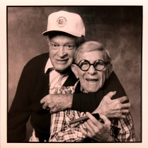 George Burns/Bob Hope, 1989, 2015; Archival Inkjet Image size: 507 x 508