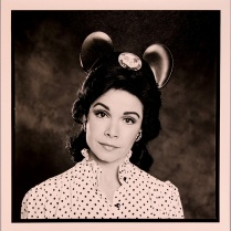 Annette Funicello, 1983, 2015; Archival Inkjet Image size: 508 x 508
