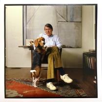 Richard Diebenkorn, 1985, 2015; Archival Inkjet Image size: 556 x 509