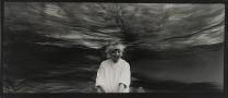 Self-Portrait, 1970; Silver gelatin print; Image size: 118 x 267 mm
