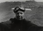Myself As a Pilot, 1982; Silver gelatin print; Image size: 288 x 397 mm