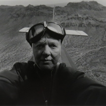 Myself As a Pilot, 1982; Silver gelatin print; Image size: 288 x 397 mm
