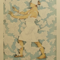 Blind Faith, 2013; Lithograph; Image Size: 432 x 330