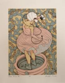Little Pink Lie; Lithograph; Image Size: 279 x 203