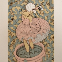 Little Pink Lie; Lithograph; Image Size: 279 x 203
