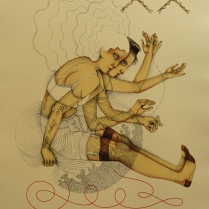 The Innate Thread; Lithograph; Image Size: 415 x 320