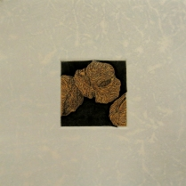 Floating Pollen, 2014; Etching; Image size: 203 x 205
