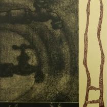 Western Pivot, 2006; Etching, woodcut; Image size: 353 x 282