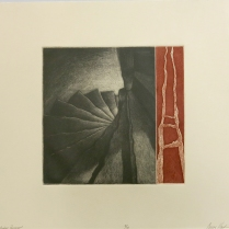 Western Passage, 2010; Etching; Image size: 227 x 234