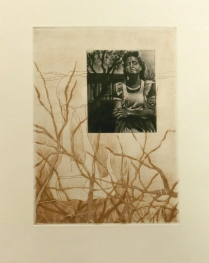 Unnamed Loss, 2016; Etching, mezzotint ; Image size: 273 x 202