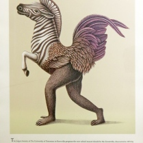 Beauvais Lyons (born 1958); Gerillagallus Equiclavatus, circa 1998; Lithograph on paper; Gift of the Texas Tech University School of Art