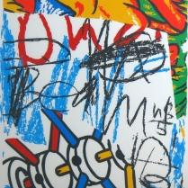 Jack McCaslin; Royal Krush, circa 1998; Screen print on paper; Gift of the Texas Tech University School of Art