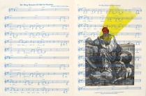 Do They Dream of Hell in Heaven, from Bottom of the World, 2013; Lithograph; Image size: Recto: 365 x Recto: 763 mm
