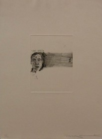 Meanwhile, 2001; Intaglio; Image size: 300 x 225 mm