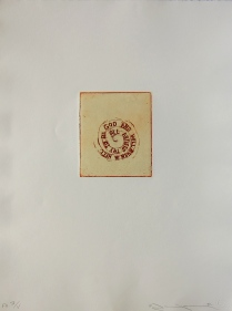 All Artists Try…, 1998; Etching; Image size: 177 x 150 mm