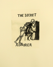 The Secret Admirer, 2001; Etching; Image size: 302 x 222 mm