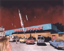 Rocket Lounge, Alamogordo, New Mexico, 1989, 1993, Chromogenic print, 17 X 22 in.