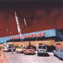 Rocket Lounge, Alamogordo, New Mexico, 1989, 1993, Chromogenic print, 17 X 22 in.