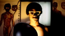 Marcus - Instant Cultural Vision - Chromatic Optometry Los Angeles, California, 1978/2004, Chromogenic print, 17X22 in.
