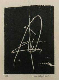 Fasces, 2014; woodcut
