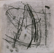 An untitled trace monotype from about 2015