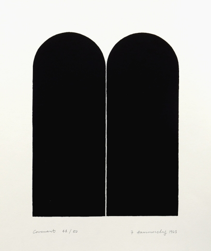 Covenant, 1963; screen print (275x218mm)