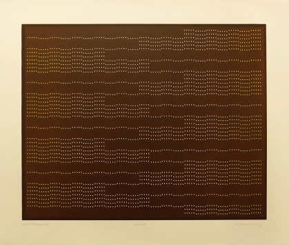 almost, 1973; lithograph (445x558mm)