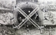 Bill Haveron, Jupiter Is a Sun that Failed, 1987; graphite on paper