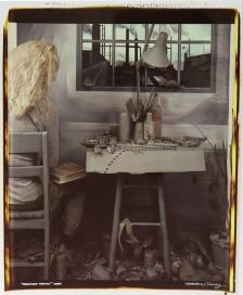 Beware Artist, 1984; Polaroid print (695x560 mm)