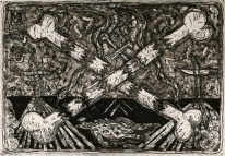 Frank X. Tolbert2, Untitled, 1988; intaglio (550x790mm)