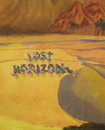 Lost Horizons, 2009; screen print (560x454 mm)