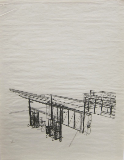 Carolyn Bunt; Station to Station (Once there were mountains), 2013; inkjet