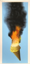 Richard Falle; Ice Cream Inferno, 2012; inkjet proof